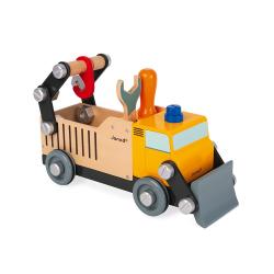 """J06470 Игрушка-конструктор """"Строительный автомобиль"""", серия """"Brico'Kids"""", фото , изображение 2"""