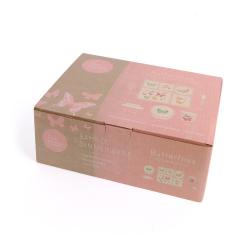 "P-MAE-YD010 Набор посуды из бамбука ""Бабочка"" 5 предметов, фото , изображение 5"
