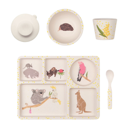"""P-MAE-YD017 Набор бамбуковой посуды """"Australiana"""", 5 предметов, фото , изображение 3"""