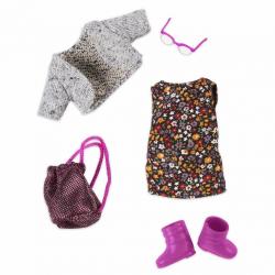Комплект одежды для куклы с платьем, фото , изображение 2