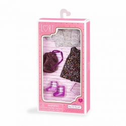 Комплект одежды для куклы с платьем, фото , изображение 3