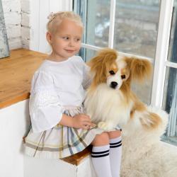 3993 Собака породы папийон, 41 см, фото , изображение 11