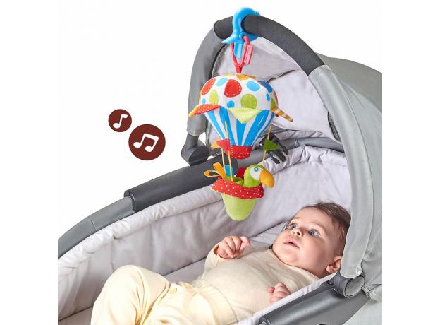 Игровой набор Yookidoo «Попугай на воздушном шаре» погремушка и прорезыватель, фото , изображение 2