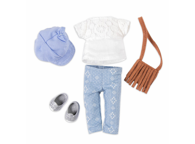 Комплект одежды для куклы Lori с сумочкой , фото , изображение 2
