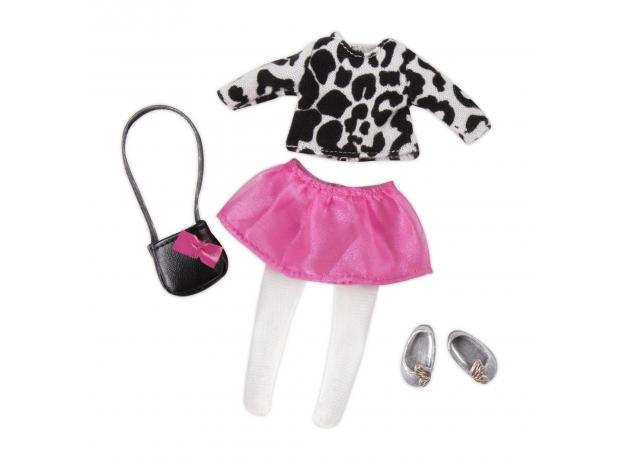 Комплект одежды для куклы Lori с кардиганом и юбочкой, фото , изображение 2