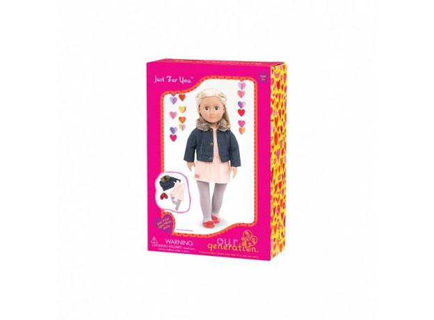 Комплект одежды для куклы Our Generation с джинсовой курточкой, фото , изображение 2