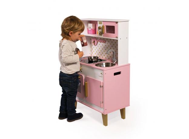 Кухня напольная Janod «Candy chic» со звуком и светом , фото , изображение 9