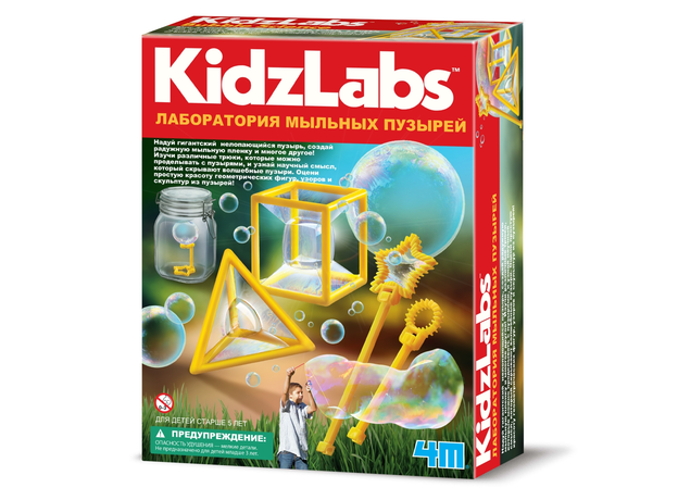 Набор 4M 00-03351 Лаборатория мыльных пузырей, фото