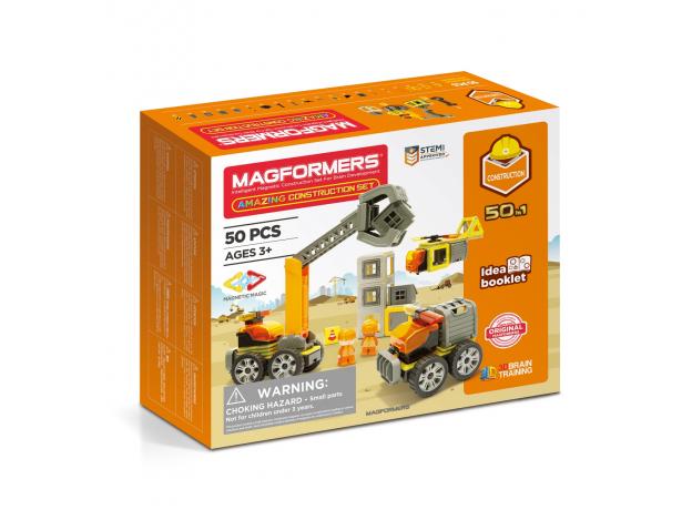 Магнитный конструктор MAGFORMERS 717004 Amazing Construction Set, фото