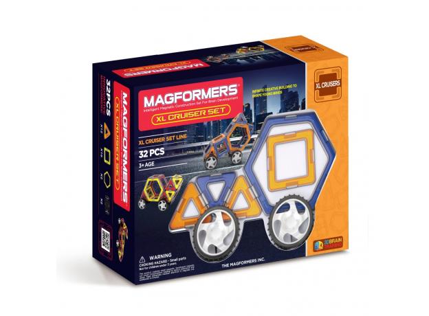 Магнитный конструктор MAGFORMERS 706001 Xl cruisers машины, фото