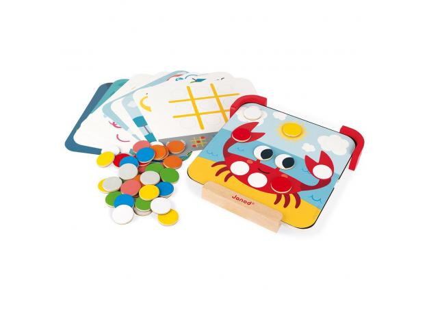 Сортер-игра Janod с магнитными элементами; серия «Я учу цвета», фото , изображение 4