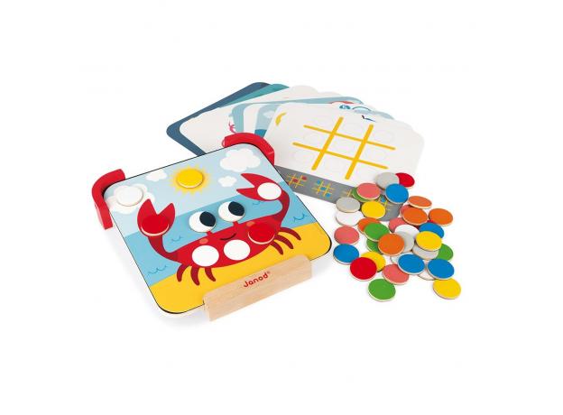 Сортер-игра Janod с магнитными элементами; серия «Я учу цвета», фото , изображение 11