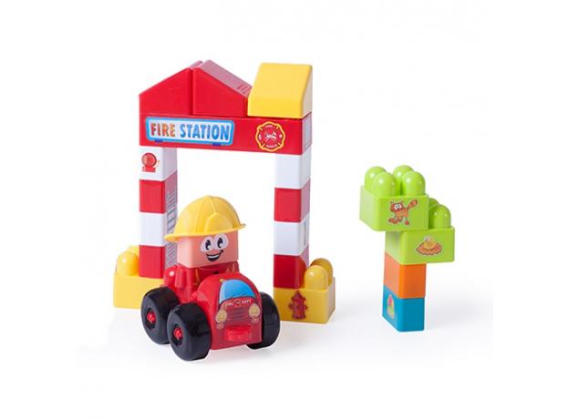 32352 MINILAND Конструктор блочный Пожарная станция, фото , изображение 2