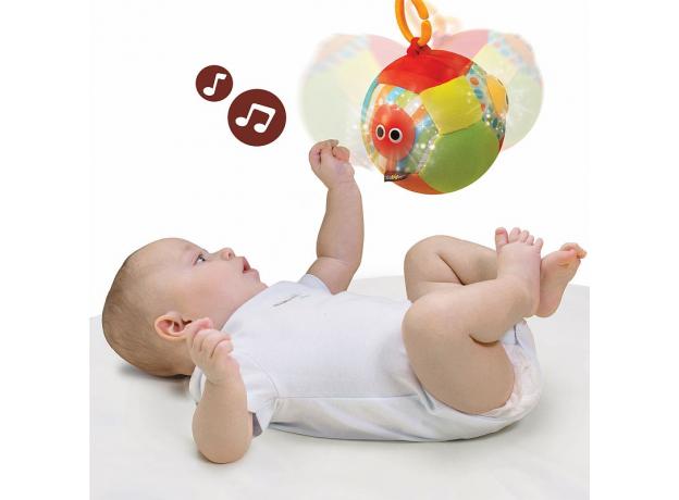 Музыкальный мяч с огоньками Yookidoo, фото , изображение 2
