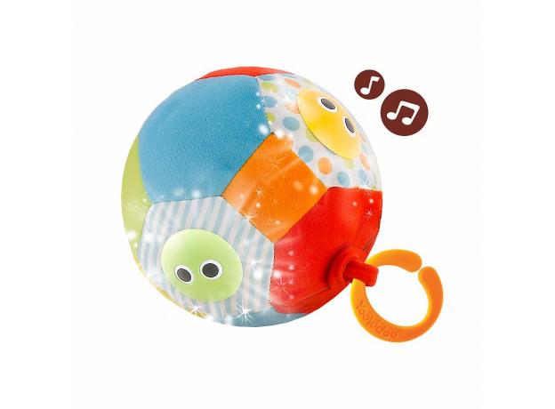 Музыкальный мяч с огоньками Yookidoo, фото