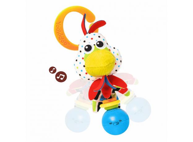 Музыкальная погремушка Yookidoo «Петушок», фото