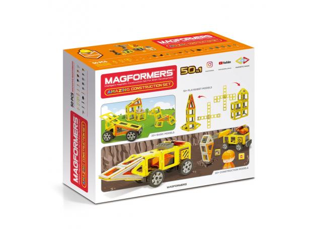 Магнитный конструктор MAGFORMERS 717004 Amazing Construction Set, фото , изображение 20