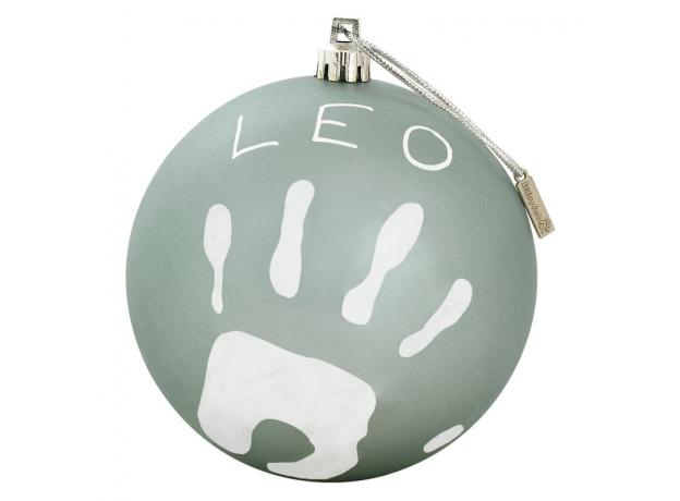 Новогодний шар Baby Art с отпечатком бирюзовый, фото