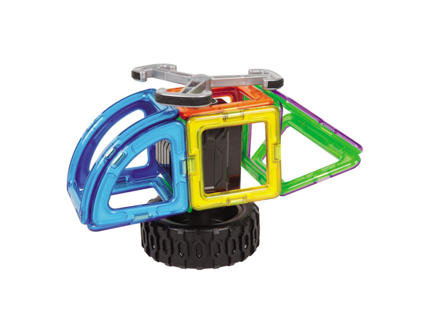 Магнитный конструктор MAGFORMERS 707012 Funny Wheel Set 20, фото , изображение 4