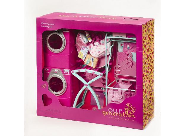 Набор для куклы Our Generation «Прачечная», фото , изображение 2