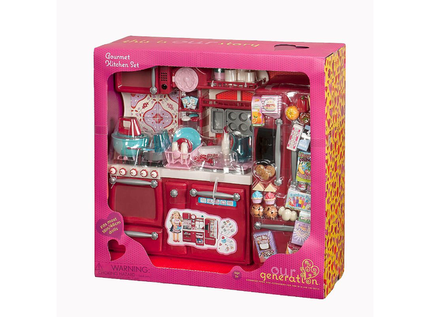 Набор для куклы Our Generation «Кухня», фото , изображение 4