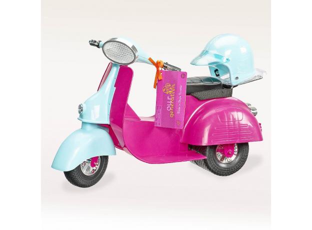 Скутер для куклы 46 см Our Generation, фото , изображение 2