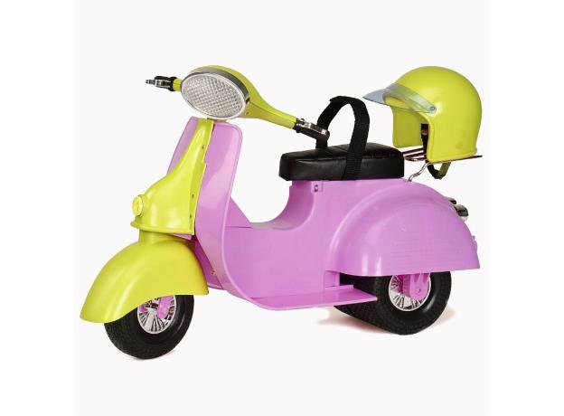 Скутер для куклы 46 см Our Generation, фото , изображение 3