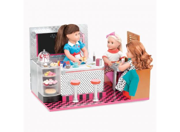 Ретро-кафе для куклы 46 см Our Generation, фото