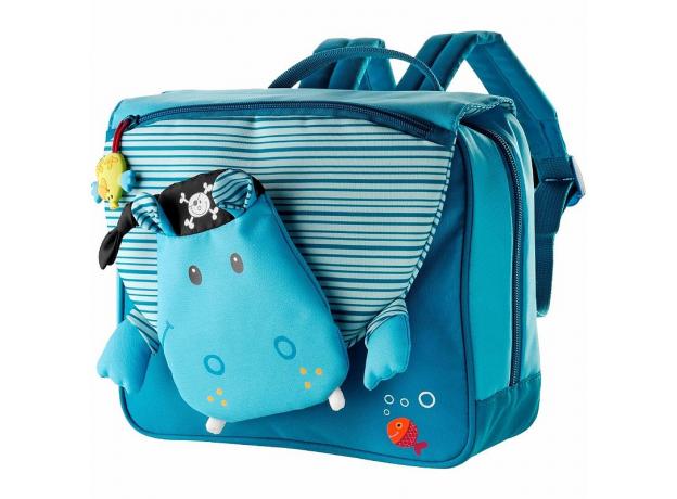 Школьный рюкзак Lilliputiens «Бегемотик Арнольд», фото