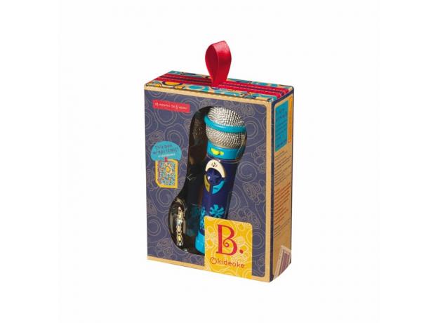 Записывающий игрушечный микрофон B.Toys (Battat) «Okideoki», фото , изображение 2