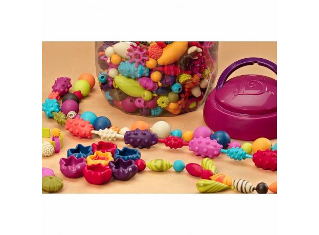 Игрушечный набор для украшений B.Toys (Battat) «Pop Arty», фото , изображение 2