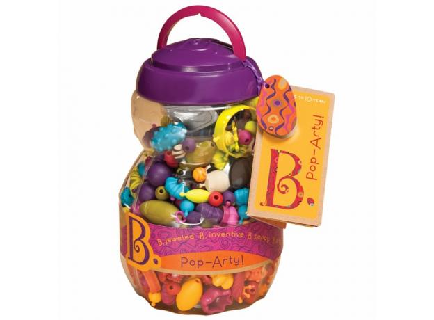 Игрушечный набор для украшений B.Toys (Battat) «Pop Arty», фото , изображение 3