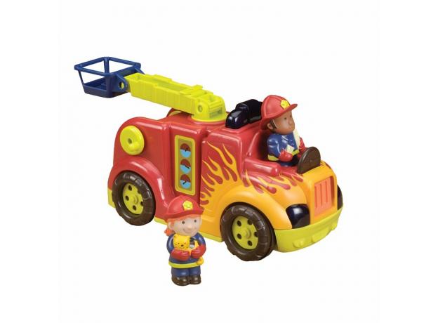 Пожарная машина с пожарными B.Toys (Battat), фото