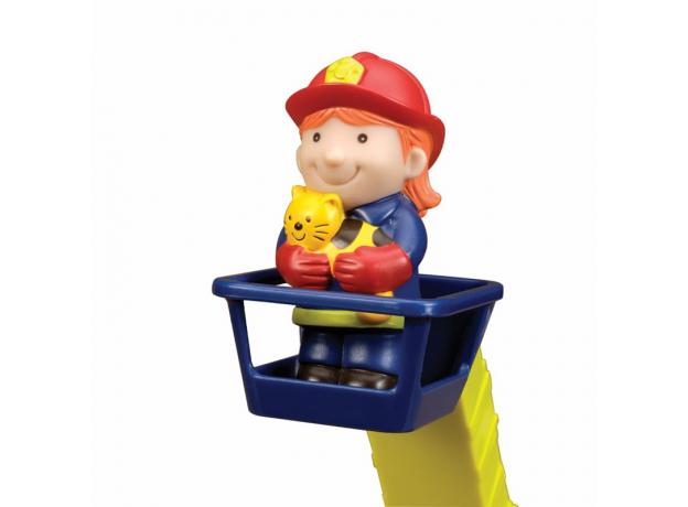 Пожарная машина с пожарными B.Toys (Battat), фото , изображение 2