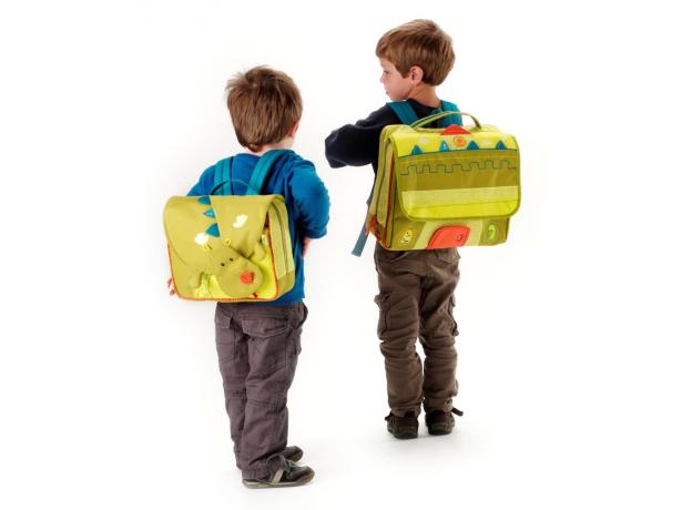 Школьный рюкзак Lilliputiens «Дракон Уолтер»; А5, фото , изображение 2