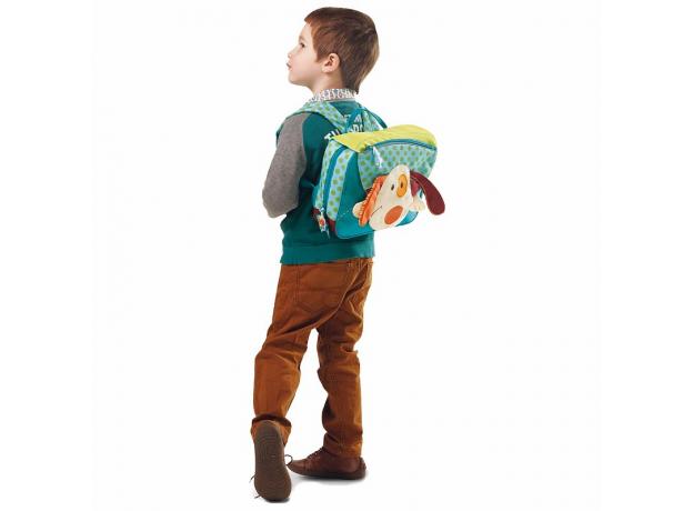 Школьный рюкзак Lilliputiens «Собачка Джеф», фото , изображение 5