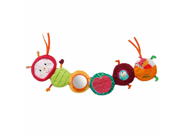 Развивающая игрушка на кроватку Lilliputiens «Гусеница Джульета», фото