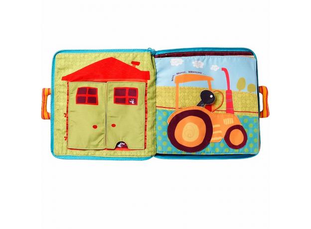 Мягкая книжка-игрушка Lilliputiens «Собачка Джеф», фото , изображение 3