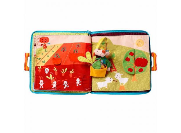 Мягкая книжка-игрушка Lilliputiens «Собачка Джеф», фото , изображение 8