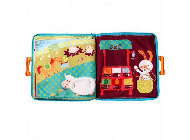 Мягкая книжка-игрушка Lilliputiens «Собачка Джеф», фото , изображение 9