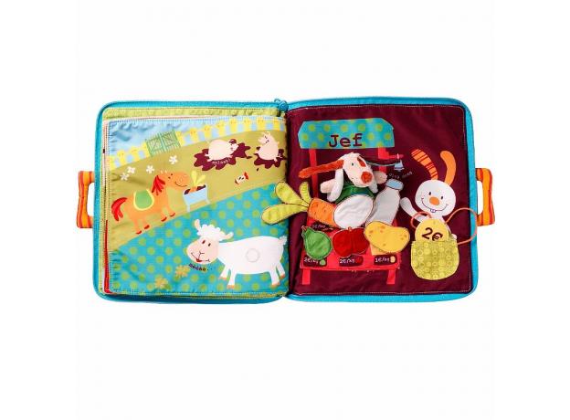 Мягкая книжка-игрушка Lilliputiens «Собачка Джеф», фото , изображение 10