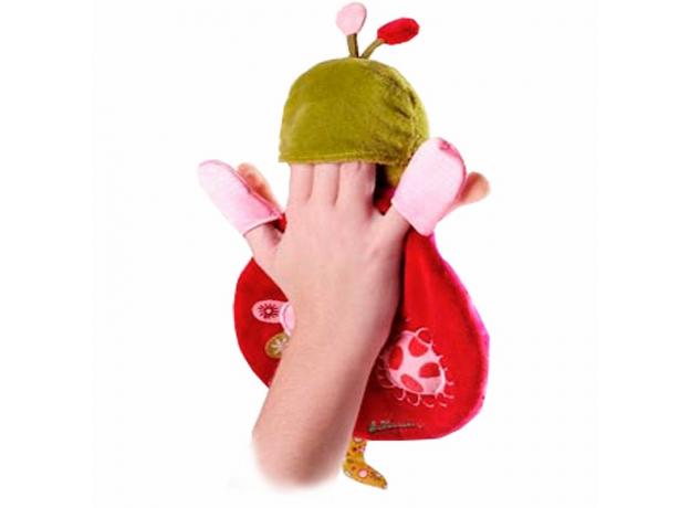 Игрушка-обнимашка Lilliputiens «Божья коровка Лиза» в коробке, фото , изображение 2