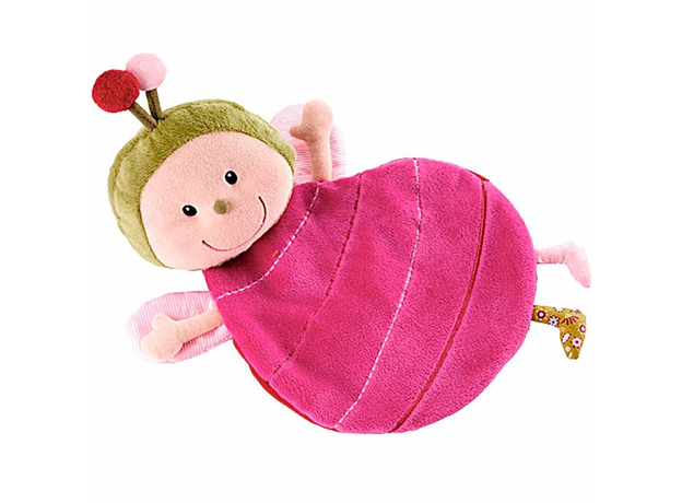 Игрушка-обнимашка Lilliputiens «Божья коровка Лиза» в коробке, фото