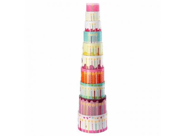 Набор цилиндров-пирамидок Lilliputiens, фото , изображение 3