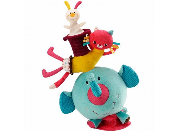 Мягкая игрушка на баланс Lilliputiens «Слоненок Альберт», фото , изображение 2