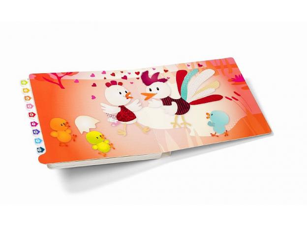 Развивающая интерактивная книжка-лабиринт Lilliputiens «Курочка Офелия», фото , изображение 2