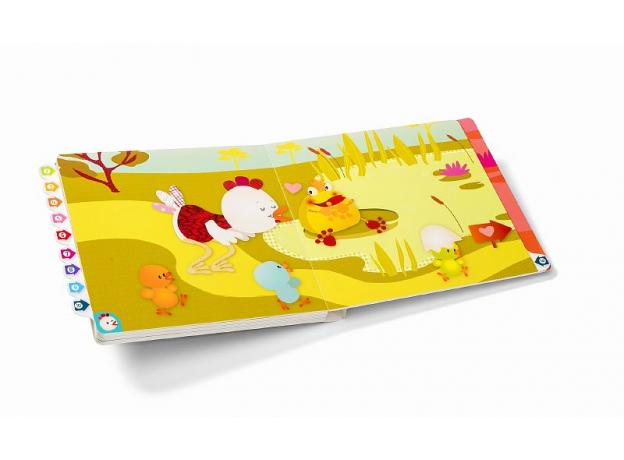 Развивающая интерактивная книжка-лабиринт Lilliputiens «Курочка Офелия», фото , изображение 5