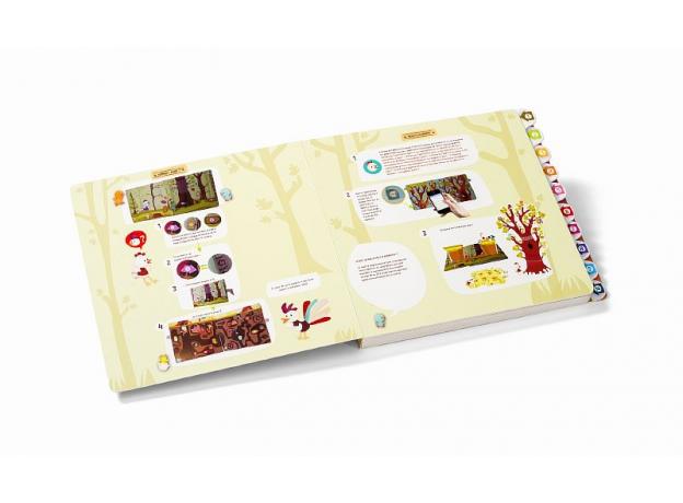 Развивающая интерактивная книжка-лабиринт Lilliputiens «Курочка Офелия», фото , изображение 7