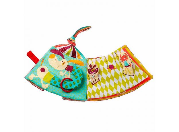 Мягкая развивающая книжка-игрушка Lilliputiens «Цирк Шапито», фото , изображение 3