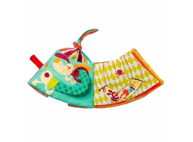 Мягкая развивающая книжка-игрушка Lilliputiens «Цирк Шапито», фото , изображение 4